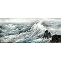 Chinese Sea Painting - CNAG009178