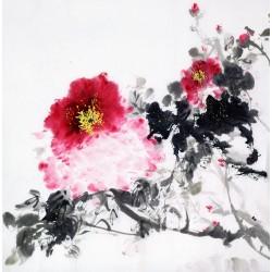 Chinese Peony Painting - CNAG009669