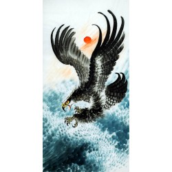 Chinese Eagle Painting - CNAG009719