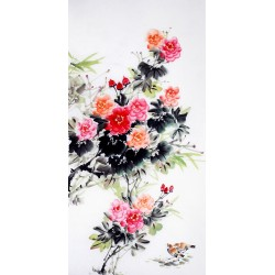 Chinese Flowers&Trees Painting - CNAG009904