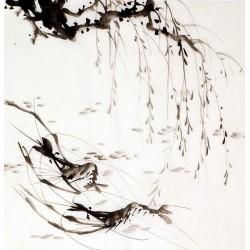 Chinese Shrimp Painting - CNAG009915