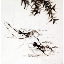 Chinese Shrimp Painting - CNAG009919