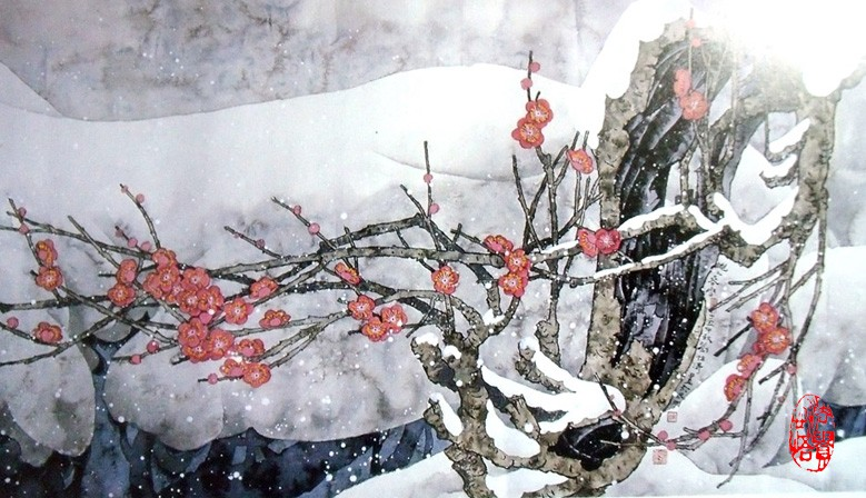 Chinese Flowers&Tree Paintings