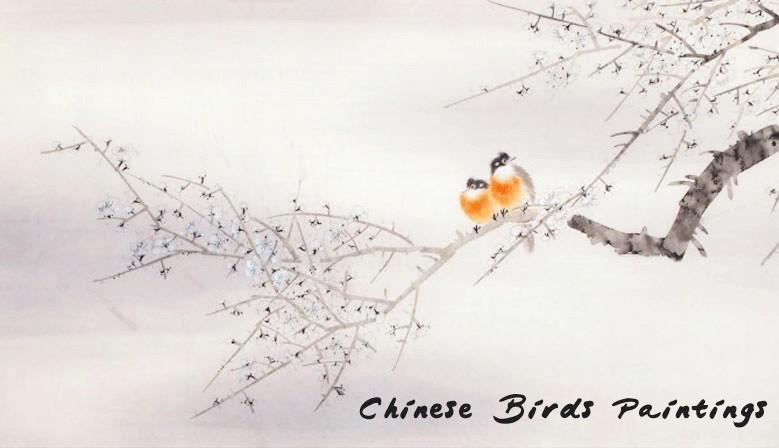 Chinse Birds Paintings